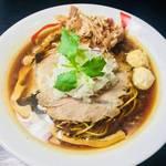 自家製麺 風心 - 鶏そば醤油