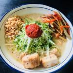 自家製麺 風心 - 鶏そば味噌