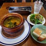麹町カフェ - スープランチ920円