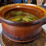 麹町カフェ - イエロームング豆のスパイシースープ コリアンダー風味