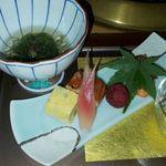 箱根小涌谷温泉 水の音 - 前菜
