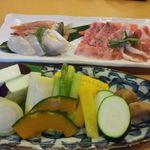 箱根小涌谷温泉 水の音 - 料理写真:炙り焼き
