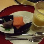 箱根小涌谷温泉 水の音 - デザート