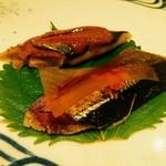 鮓 きずな - 秋刀魚の肝醤油