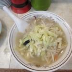 餃子の王さま - タンメン細麺で