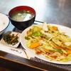 笛 - 料理写真:野菜炒め定食