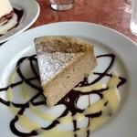 91814090 - 紅茶のチーズケーキ。