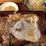 あかし庵 - かつ丼 上(¥950)