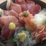 魚河岸 丸天 - 料理写真:魚河岸丸天丼