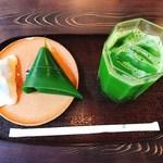 91818112 - 走井餅と麩饅頭のセット