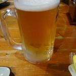 焼きとり・遊食武蔵 - ドリンク写真:生ビール