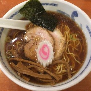 たけちゃんにぼしらーめん - 料理写真:醤油らーめん(790円)