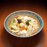 京橋タンメン - 特製鶏つみれ入り!味噌タンメン 700円