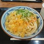 丸亀製麺 - かけけうどん