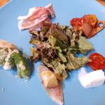 チェレステ - 前菜盛り合わせ