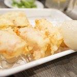 大衆天ぷらtoかすそば風土.はなれ - もちべーこん