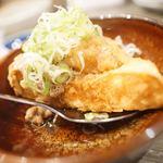 大衆天ぷらtoかすそば風土.はなれ - 厚揚げ豆腐納豆