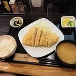 91823511 - 霧降高原豚上ロース定食(2480円)2018年8月