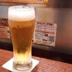 いきなりステーキ - 生ビール
