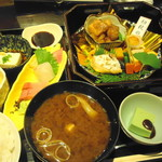 おくどさん 小柴 - 旬菜弁当(1100円)
