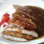 喫茶いちご - 料理写真:カツカレー 800円
