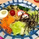 一八 - 料理写真:酢味噌ころラーメン