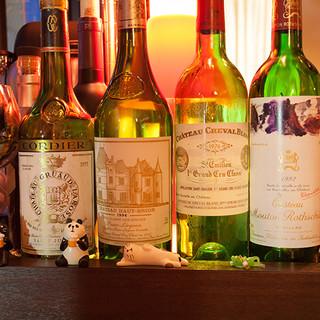 飲み頃、熟成を迎えたワイン達。