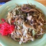 マルキ - 料理写真:富士宮焼そば、肉かすマシ