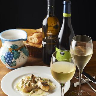 ◆拘りのワイン◎グラスワイン480円~◆