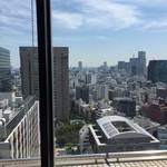 スカイラウンジ暁 - 食堂からの眺め。