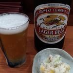 Chibuneya - ビールは小鉢付き