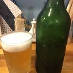 極汁美麺 umami -  ビール(ハートランド)500円