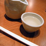 手打ち蕎麦 山がた - 日高見の純米酒