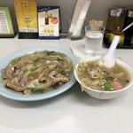 長崎飯店 - 皿うどんセット