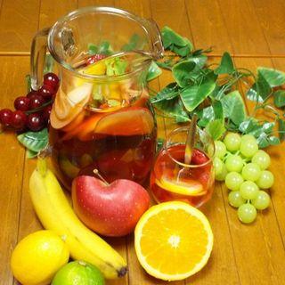 お料理にぴったり合うワインや自家製サングリアをご賞味下さい★