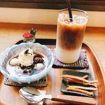 konon~木の音~ - 料理写真:冷やしコーヒーぜんざい ドリンクセット