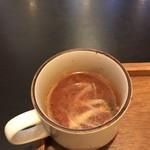 ひつじ家 - 酸味の効いたスープ
