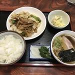 龍遊飯店 - 料理写真:日替わり定食