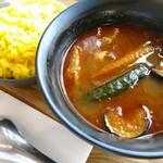 カリガリ - スープカレーにしてみたよ。