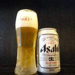 麺屋 中川會 - スミダビール