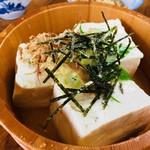会津屋豆腐店 - 冷奴 400円