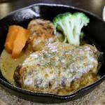 日東コーナー - テリヤキチーズ ハンバーグ