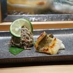 鮨 魯山 - 毛蟹と穴子
