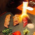 91847709 - 炙り肉寿司