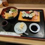 Uohachizushi - 魚八定食(864円)2018年8月