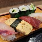Uohachizushi - 握り&巻き寿司 2018年8月