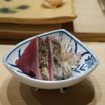 銀座 鮨 かねさか - 鰹のたたき