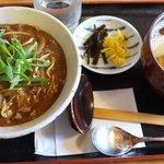9185309 - カレー丼&おうどん