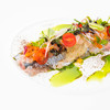 ビストロ・ダルテミス - 料理写真:秋刀魚のマリネ、レモン風味のジュレとパセリオイル