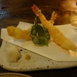 蕎麦切り 春のすけ - 大海老天ぷら